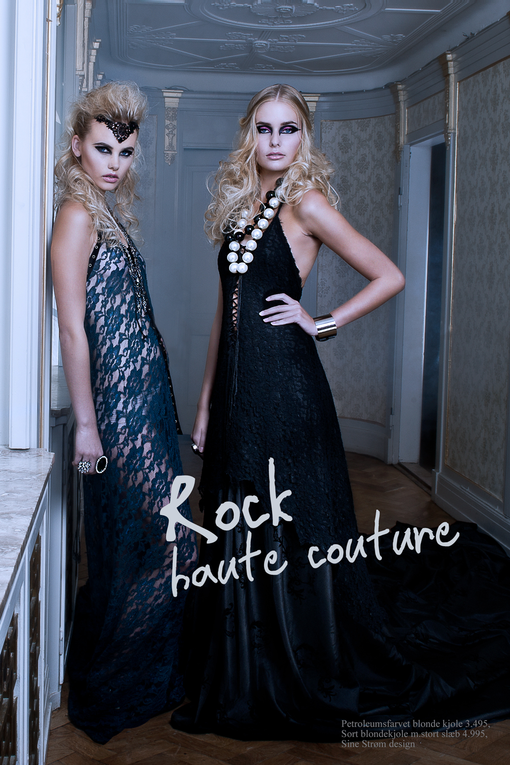 Rock haute cuture shoot!