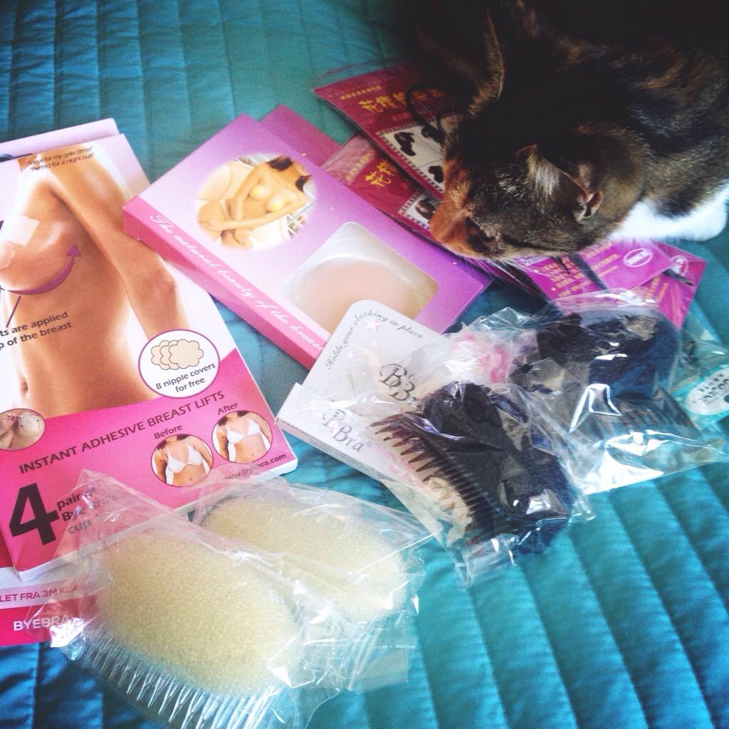 En pakke med de u-undværlige ting…