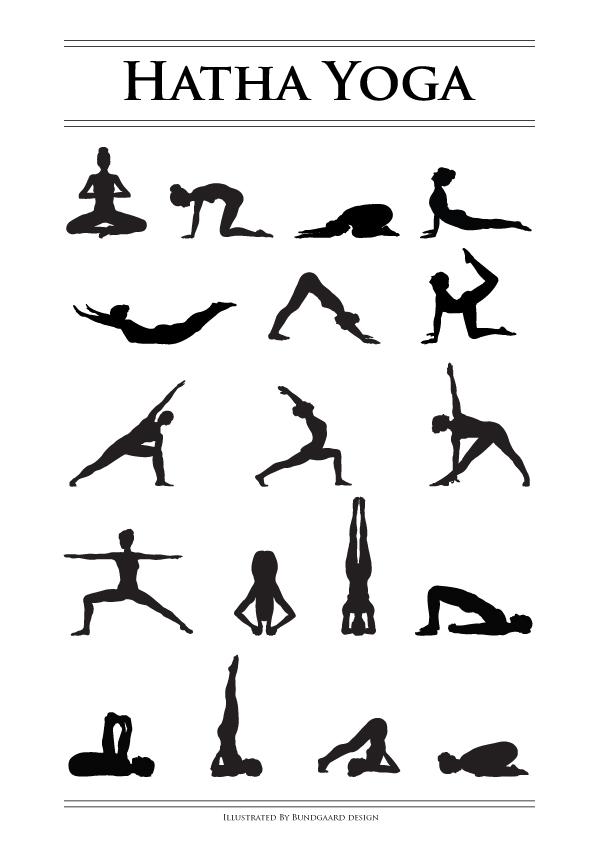 Yoga plakat